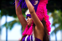 We caught the end of the 18th annual Honolulu Festival where there was a 3h parade with lots of dancers
